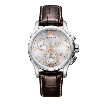 HAMILTON Jazzmaster H32612555  Men's watch with leather brown strap