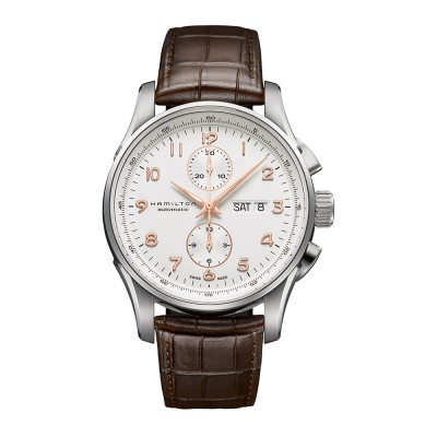 HAMILTON American Classic Jazzmaster H32766513 Automatic men's watch with leather brown strap