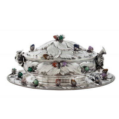 HARD STONE SOUP TUREEN 121430