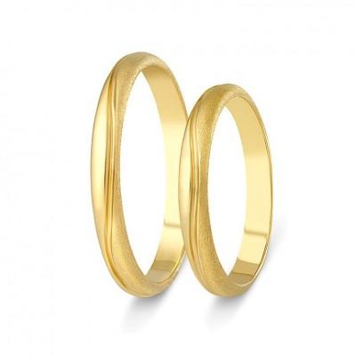 ΣΧ800 wedding rings gold
