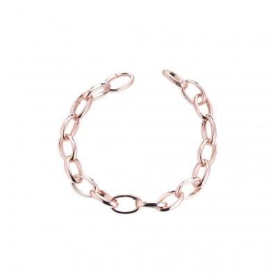 Tatiana Faberge Treasure Mountain TB01R Silver 18 k rose gold plated Bracelet